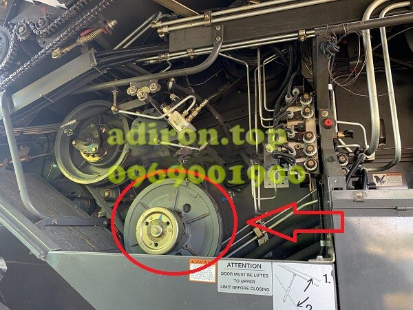 Ремонт Варіатора (Шків) Молотильного Барабана Ротора CLAAS Lexion 570